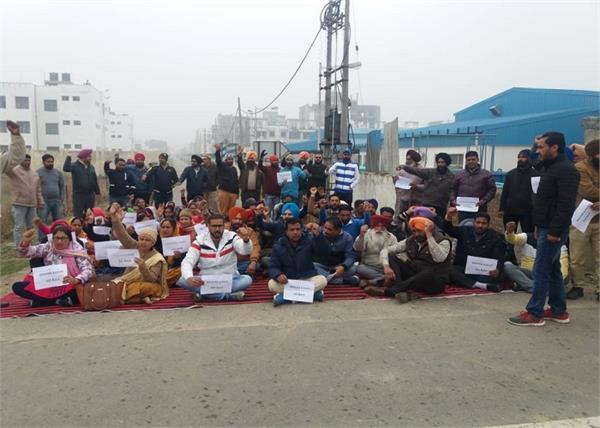 sangrur education secretary krishan kumar teachers go back slogans