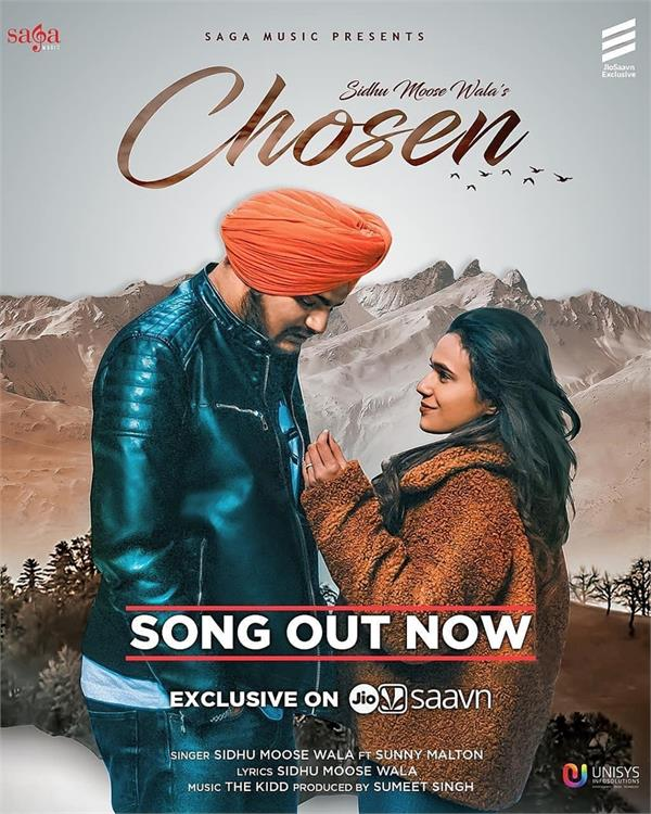sidhu moose wala new song chosen out now