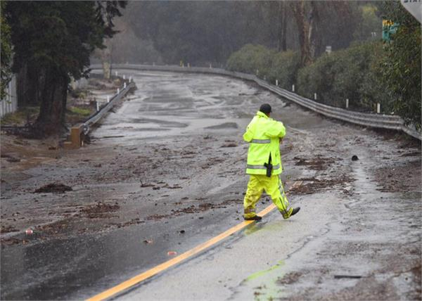 a powerful storm in southern california