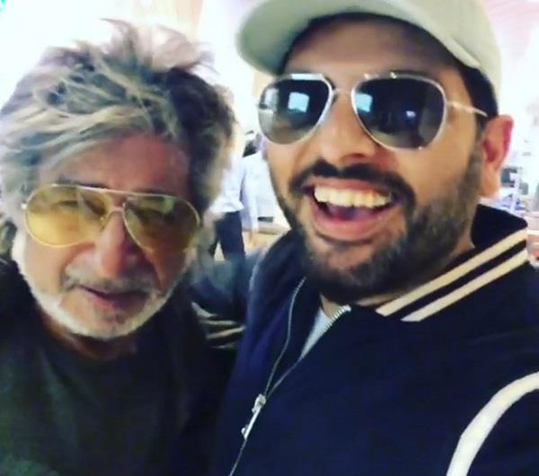 looking at yuvraj at the airport shakti kapoor said