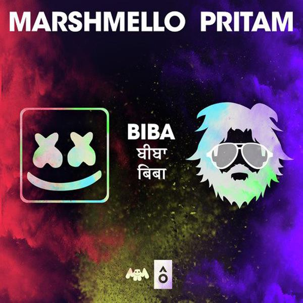 marshmello goes bollywood collaboration with pritam