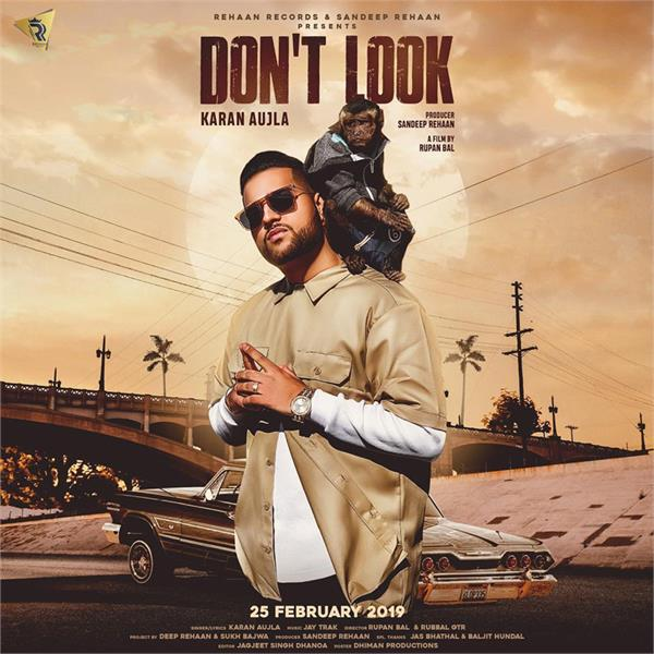 karan aujla new song dont look out now