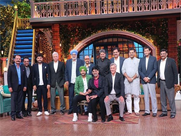 kapil sharma show witnesses kapil dev and 1983 cricket world cup team