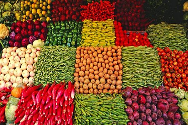 green vegetables prices rose