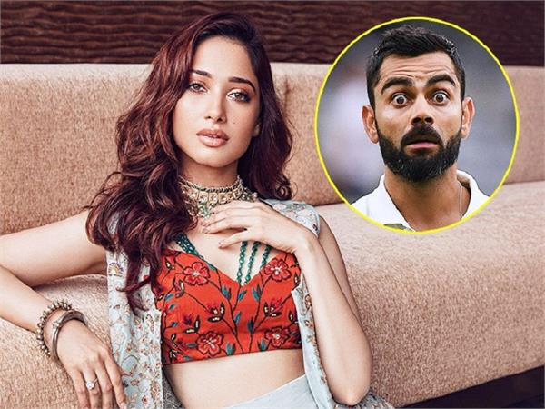 tamannaah bhatia opens up about working with virat