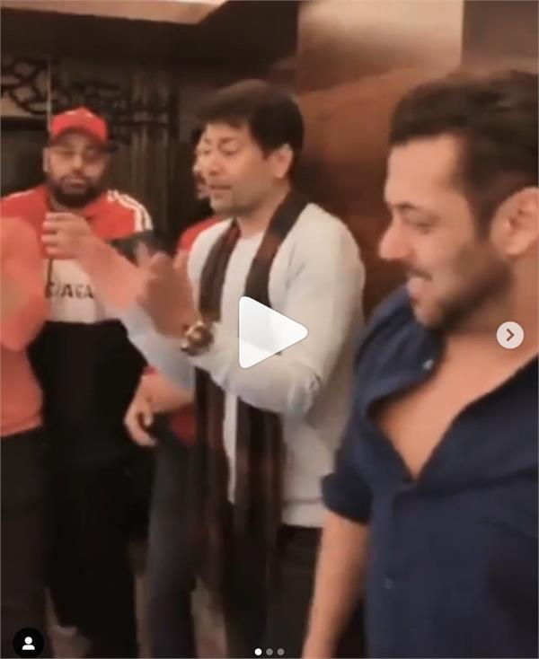 salman khan and badshah dance video
