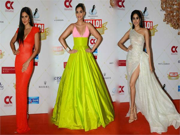 bollywood stars scorch the red carpet