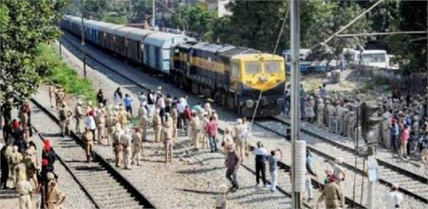 train accident averted in panipat
