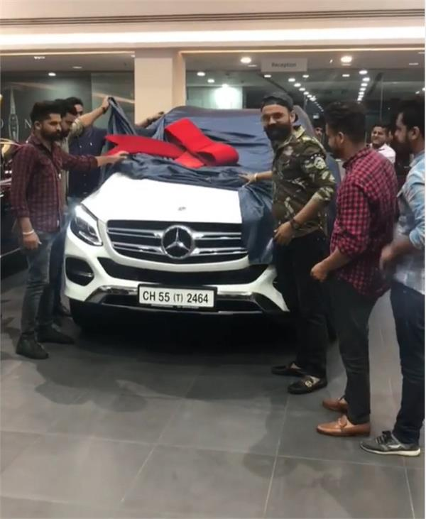 amrit maan new mercedes