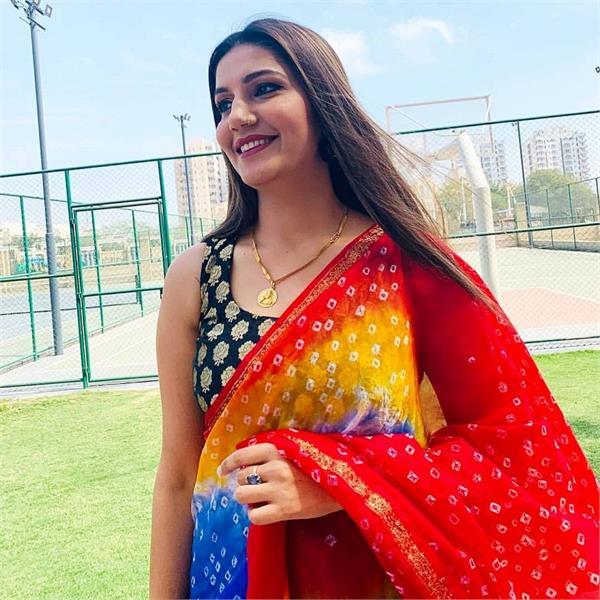 sapna choudhary dance video viral
