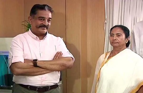 kamal haasan meets with mamta