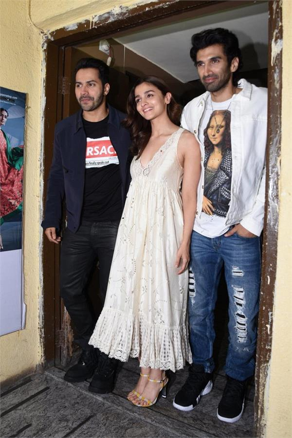 kalank screening bollywood stars watch kjo s period drama