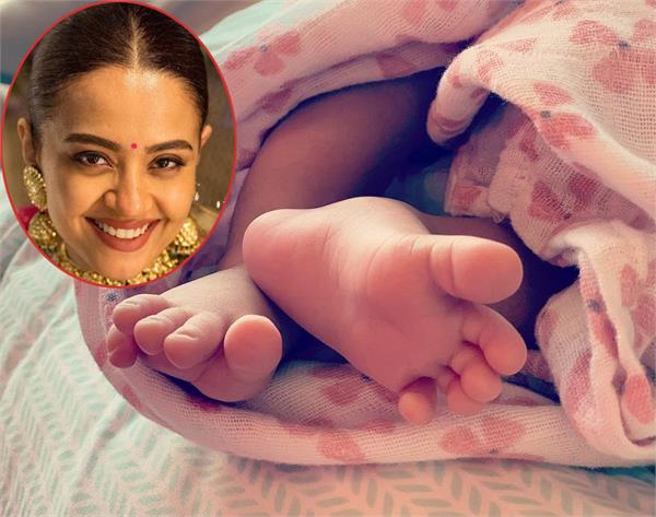 surveen chawla blessed with a baby girl