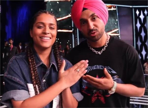 diljit dosanjh and lilly singh