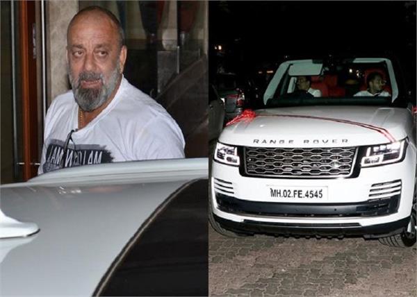 sanjay dutt buys a swanky car