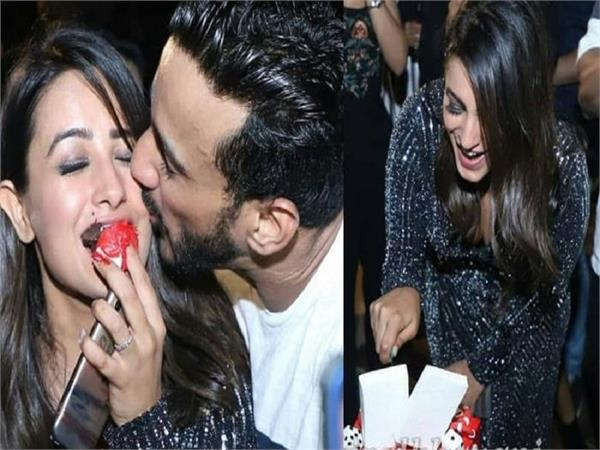 anita hassanandani s birthday party
