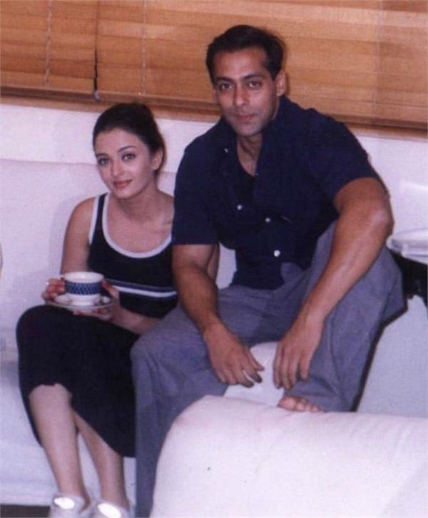 salman khan and aishwarya rai bachchan  s unseen photo