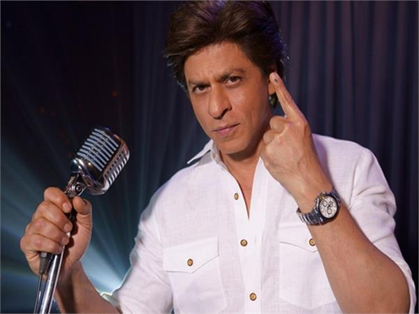 shah rukh khan raps to encourage people to vote