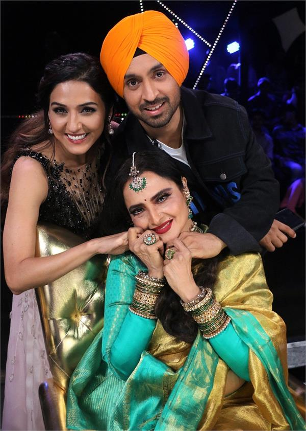 rekha and diljit dosanjh