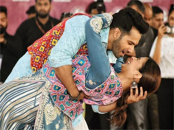 kalank stars alia and varun break into bhangra