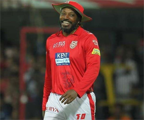watch when chris gayle did bhangra with fans after win match