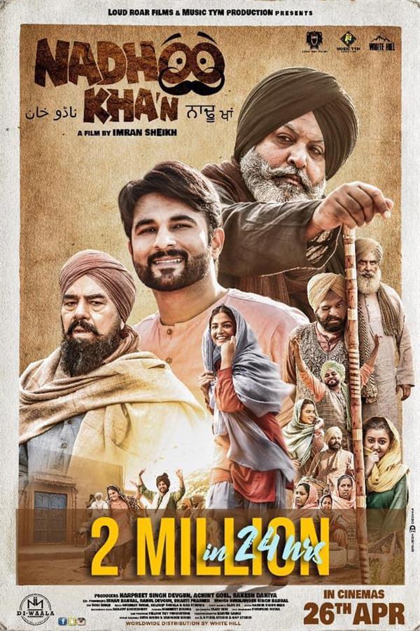 nadhoo khan trailer crossed 2 million views on youtube