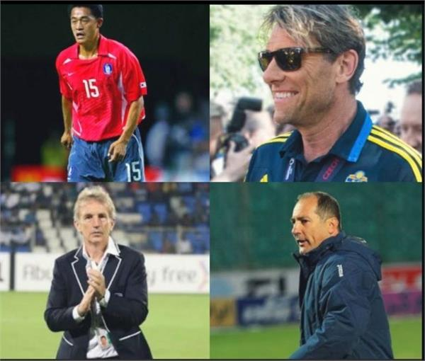 4 candidates interview for indian football coach