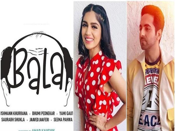ayushmann khurrana yami gautam and bhumi pednekar start shooting for bala