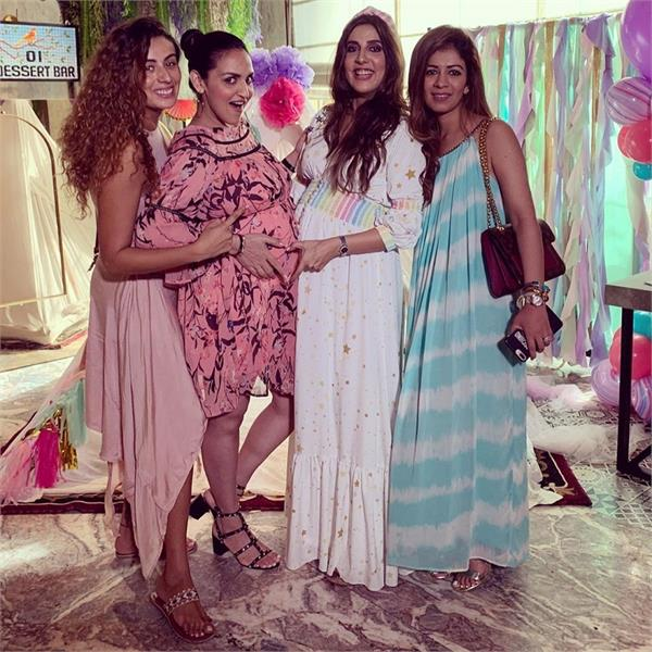 esha deol hosted her baby shower bash