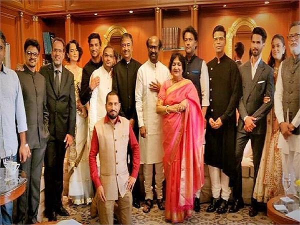 kangana rajinikanth shahid and mira attend narendra modi oath taking ceremony