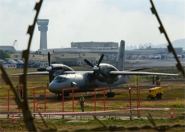 mumbai airport indian air force plane overran runway