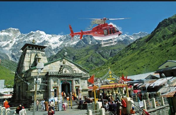helicopter service kedarnath