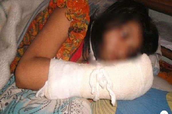 bangladesh husband cuts his wife s fingers