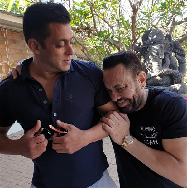 salman khan bodyguard shera leving royal life