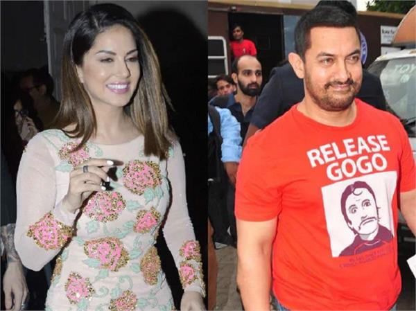 aamir khan puts up a birthday post for actress sunny leone