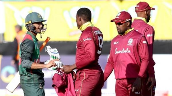 bangladesh beat west indies by 5 wickets