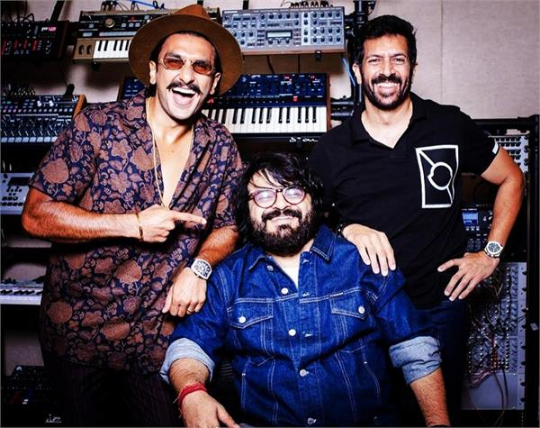 ranveer singh welcomes music composer pritam on board 83