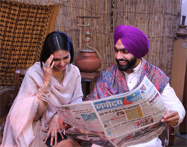muklawa interview ammy virk and sonam bajwa