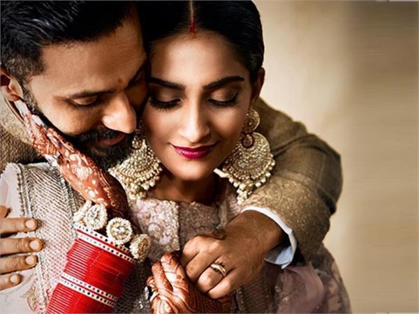 anand ahuja sonam kapoor s wedding anniversary