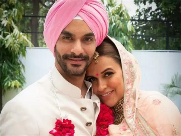 marriage anniversary   neha dhupia and angad bedi from mauritius vacay