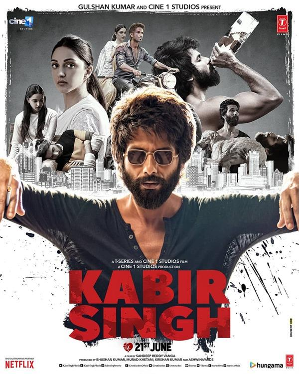 kabir singh official trailer
