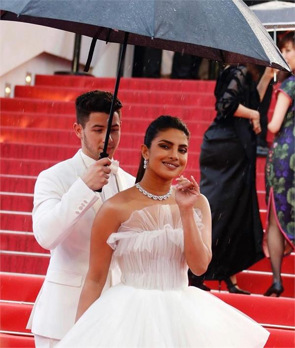 priyanka chopra and nick jonas cannes film festival