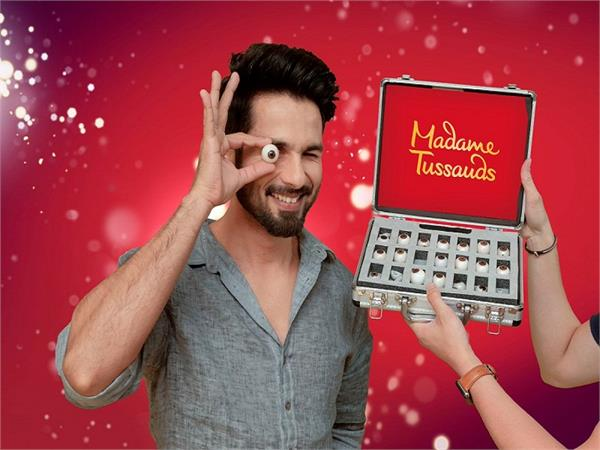 shahid kapoor wax statues in singapore