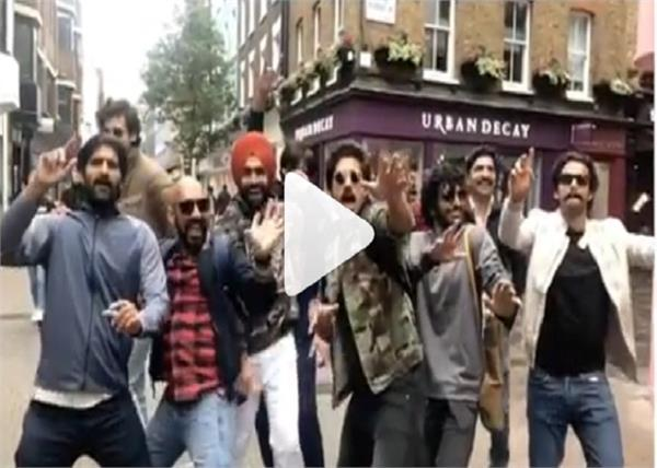 ammy virk  harrdy sandhu fly to london with the   83   team