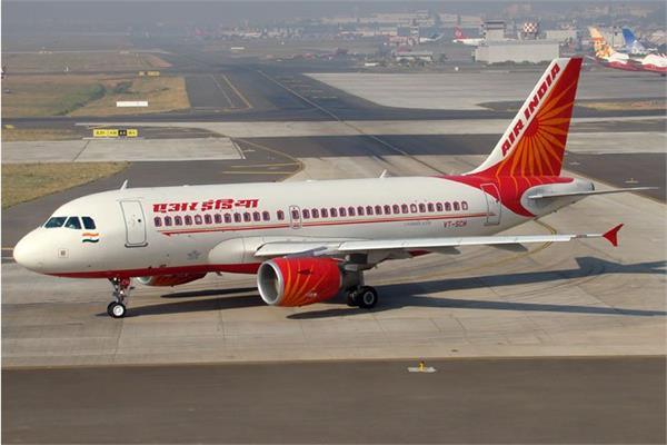 new york flights air india