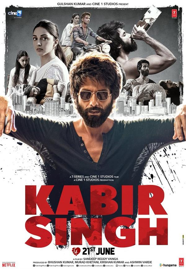 shahid kapoor announces   kabir singh   trailer date with swag in new poster