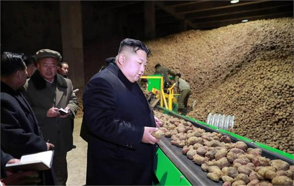 north korea was facing an food shortage