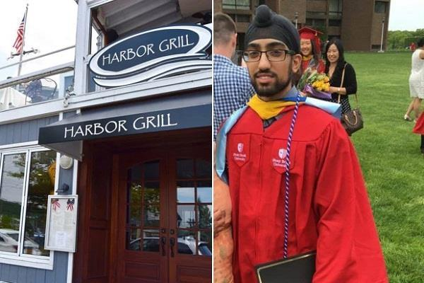 turban prevents young sikh youth from going to restaurants
