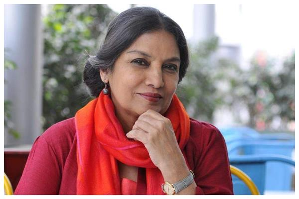 shabana azmi refuses to leave the country  said   fake news