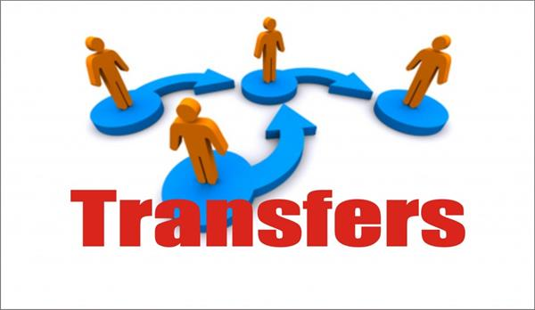 police officers transfers by ssp